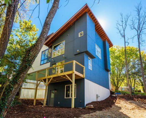 425 W Haywood St Asheville NC-large-023-23-Back of House
